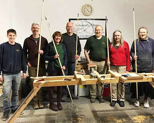 Bickerstaffe Bows Longbow Making course