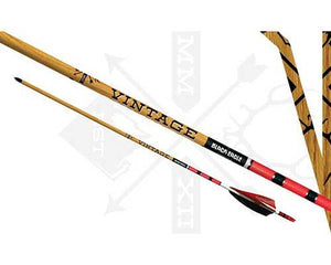 Carbon arrows Black Eagle Vintage Red