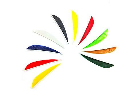 "Arrows And Arrow Making - Fletching Feathers Parabolic 3"" Gateway"