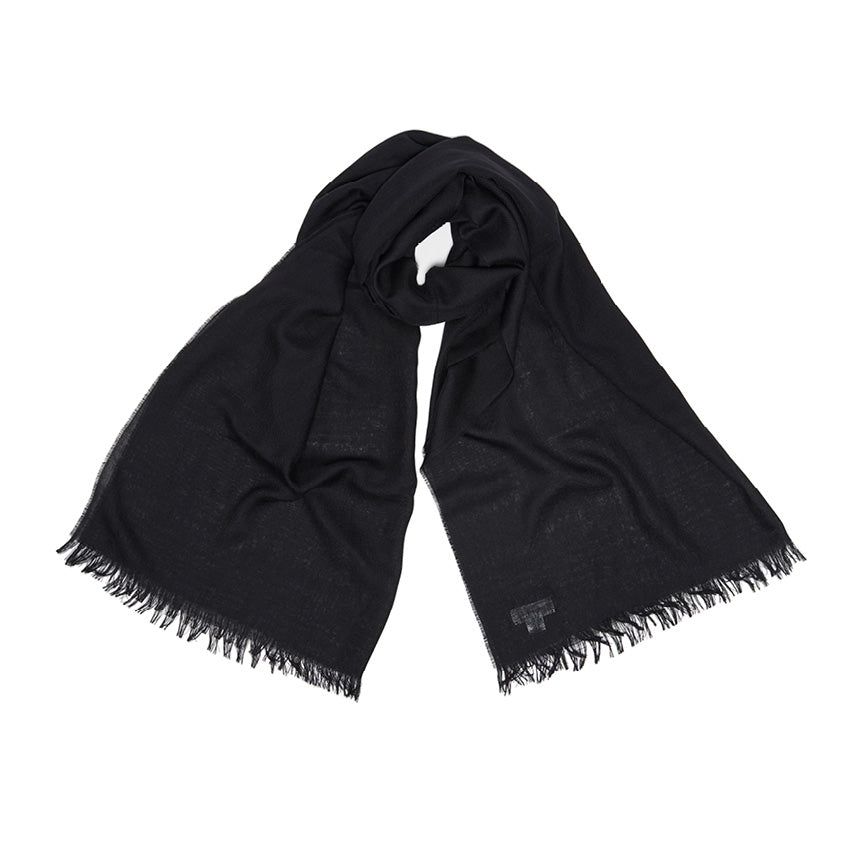 Large Black Scarf