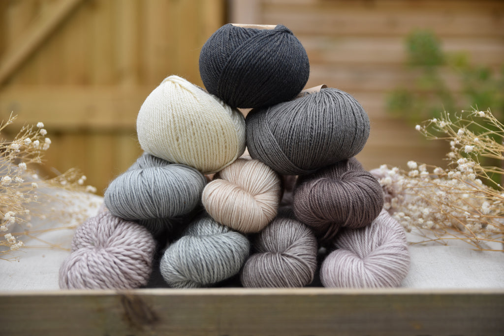 Neutral colours at Eden Cottage Yarns: why we love them and which ones to look out for!