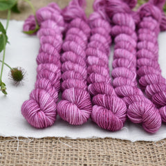 Brimham 4ply Mini Skein in Clematis (Lot 170619)