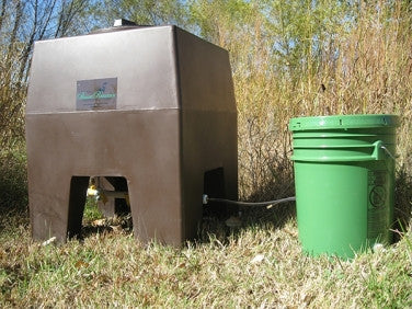 Game Bird Field Feeder / Waterer Combo