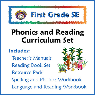 First Grade SE Phonics and Reading Curriculum - McRuffy Press