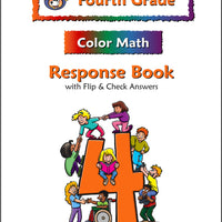 Fourth Grade Color Math Response Book - McRuffy Press