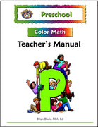 Preschool Color Math Teacher's Manual - McRuffy Press