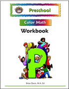 Preschool Color Math Workbook - McRuffy Press