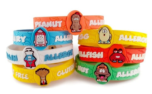Allermates Children's Allergy Notification Bracelet - Group