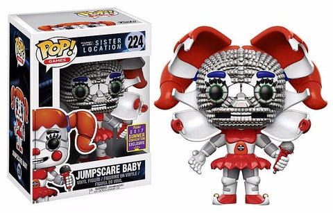 Five Nights at Freddy's Sister Location Jumpscare Baby POP! Vinyl Summer Convention Exclusive