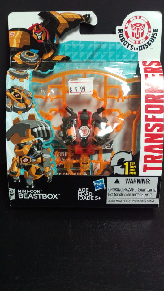 TRANSFORMERS ROBOTS IN DISGUISE MINI-CON BEASTBOX