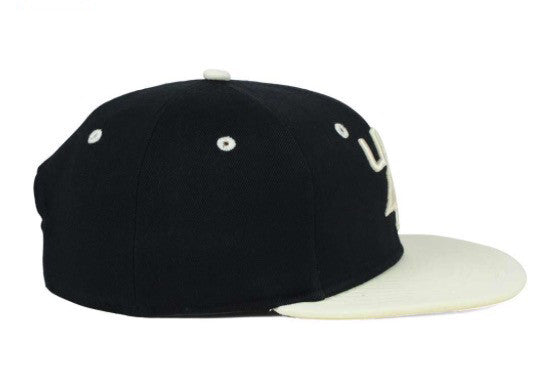 "LRG ""Lifted Research Group"" Snapback Cap (Black/White) Adjustable Hat"