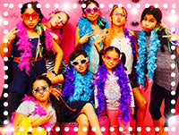 Ritzy Glitzy Girlz Club Long Island & Queens Kids Birthday Party Bus Glamour Shots