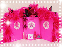 Ritzy Glitzy Girlz Club Long Island & Queens Kids Birthday Party Bus Goody Bags