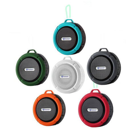 Bluetooth Waterproof Wireless Speaker Suction Shower speaker Hands free Mic