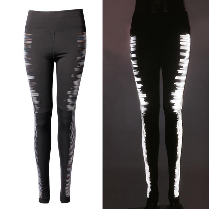 Jennifer Black Reflective Night Running Leggings
