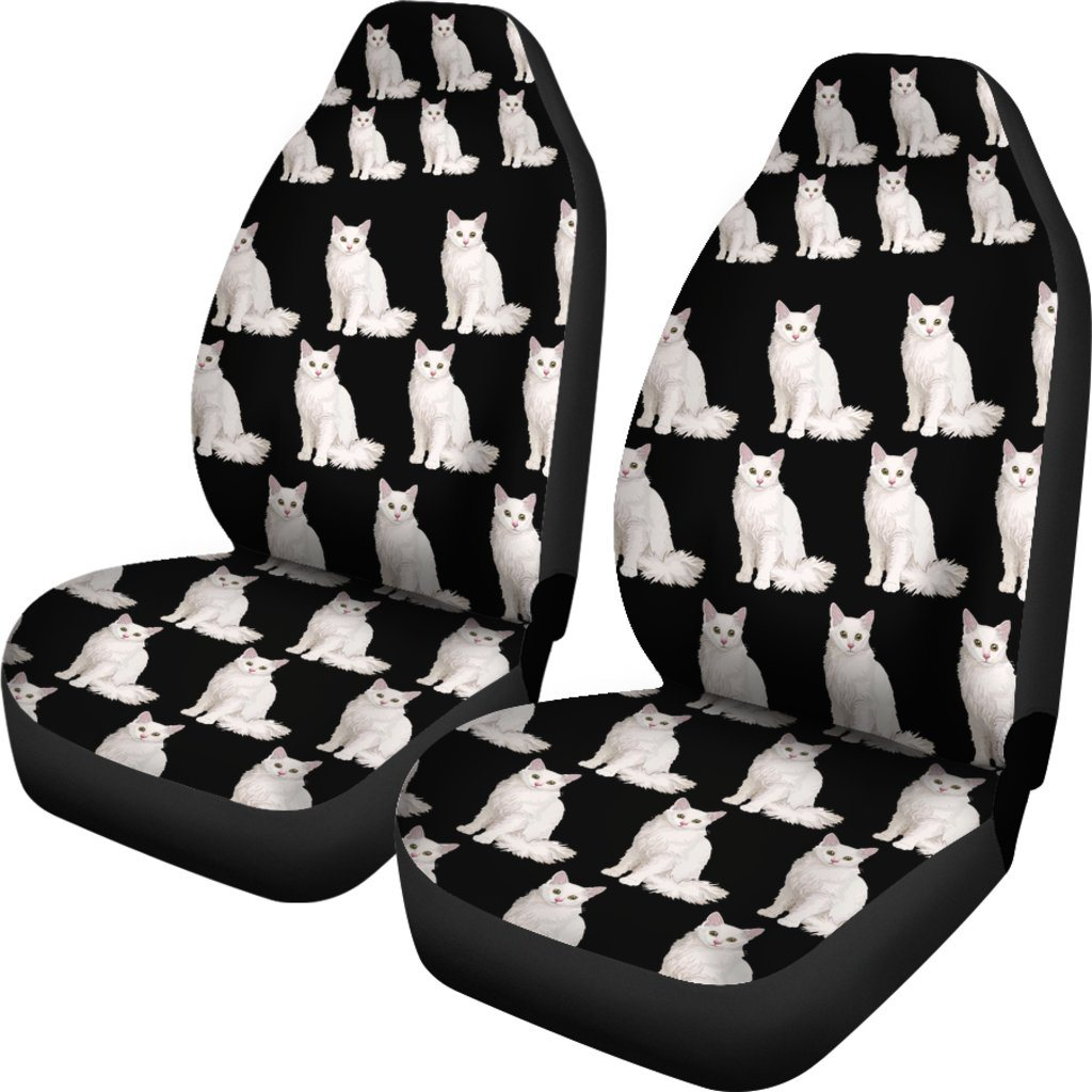 Angora Cat Car Seat Covers (SET OF 2)