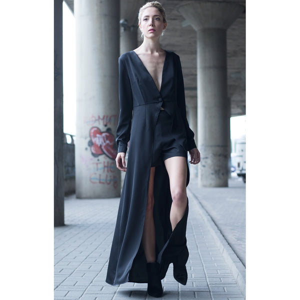 MS. CROFT LONG MAXI DRESS - Gimmerton