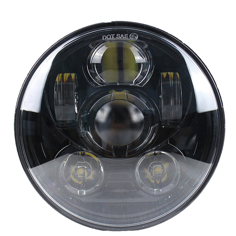 5.75 MOONSMC® Moonmaker 2 LED Headlight For Harley, Lighting, MOONS, MOONSMC // Moons Motorcycle Culture