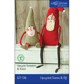 Upcycled Santa & Elf PDF Pattern