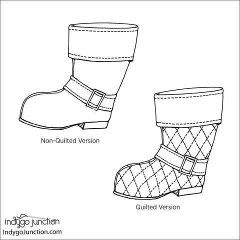 Santa's Stand-Up Christmas Stocking Pattern