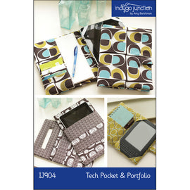 Tech Pocket & Portfolio PDF Pattern