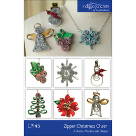 Zipper Christmas Cheer PDF Pattern