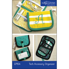 Tech Accessory Organizer PDF Pattern