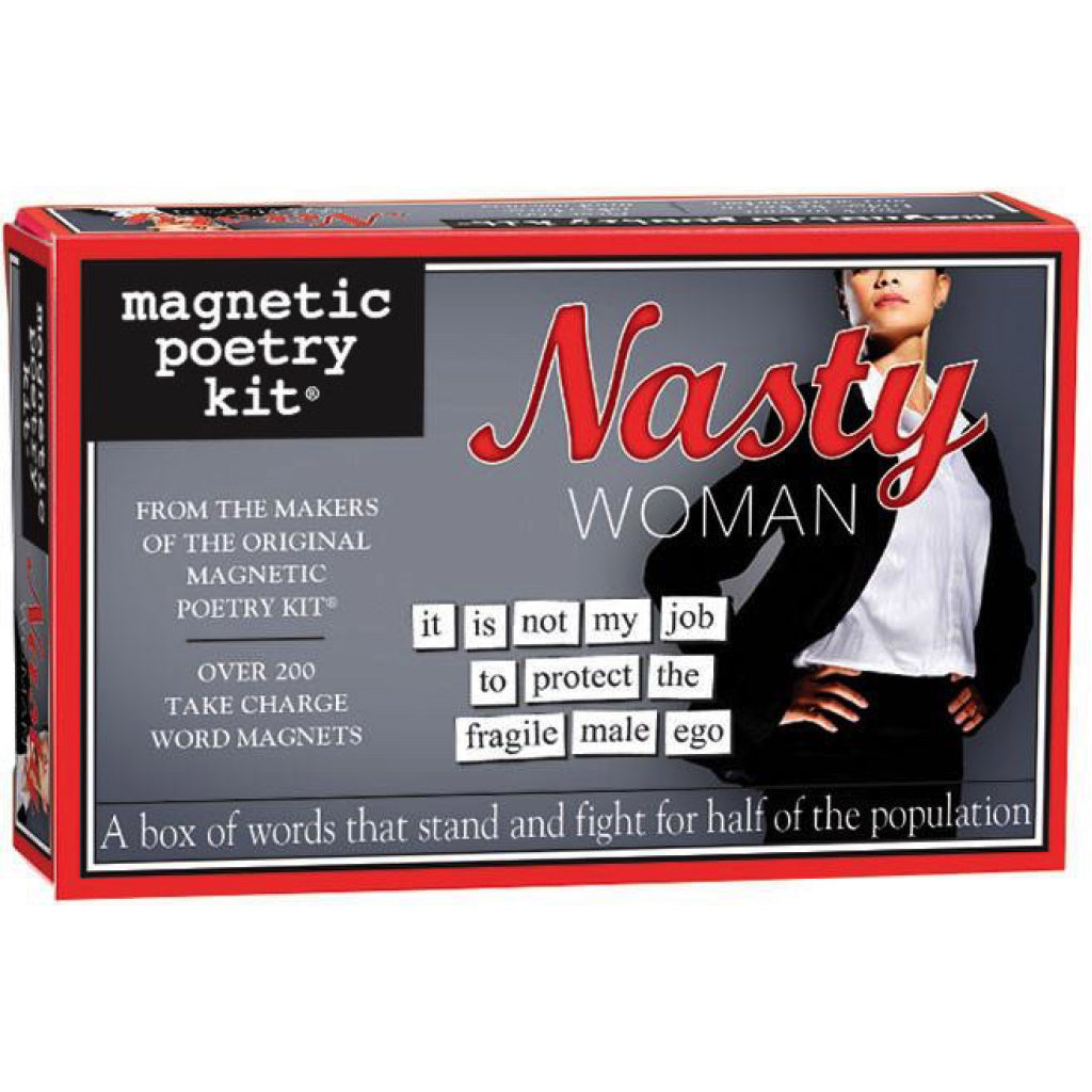 Magnetic Poetry Nasty Woman