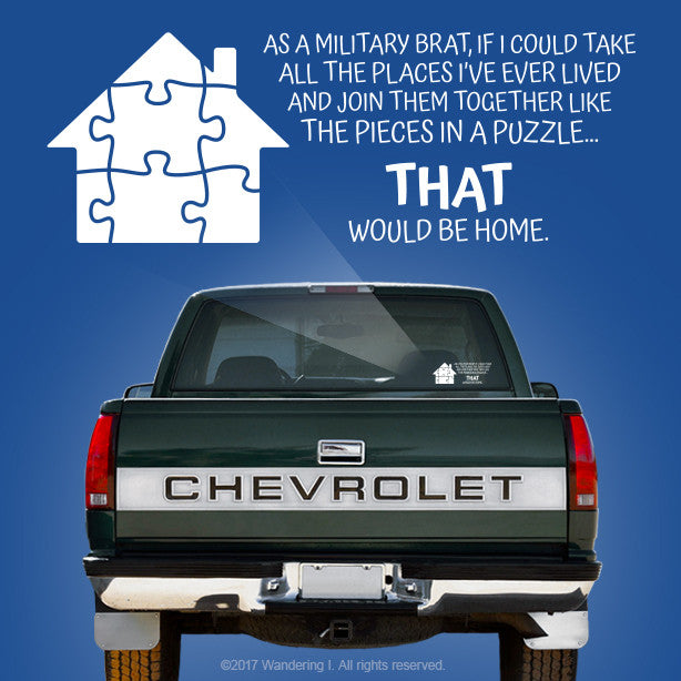 """Pieces In A Puzzle"" – Vehicle Window Sticker"