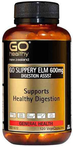 Go Healthy GO Slippery Elm Capsules 120