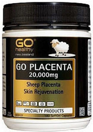 Go Healthy Placenta 20,000mg Capsules 180