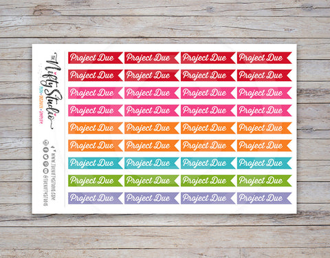 Project Due Planner Stickers [212]