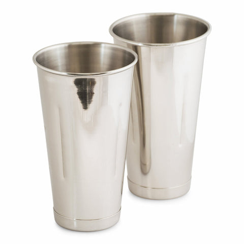 Set of 2 - True Craftware Stainless Steel 30 oz Bar Shaker - Cocktail Shaker - Malt Cup