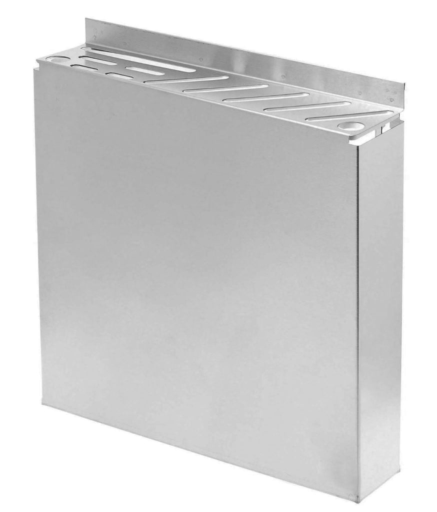"True Craftware Stainless Steel Knife Rack - Fits Assorted Sized Knives - 12"" x 2.5"""