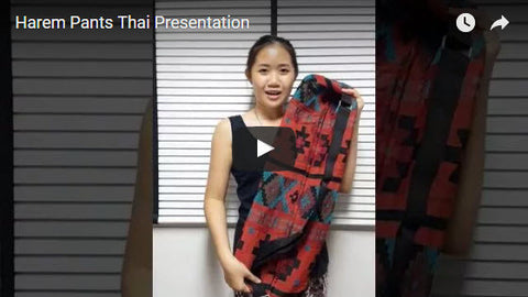 Harem Pants Thai - Presentation Overall Our Products