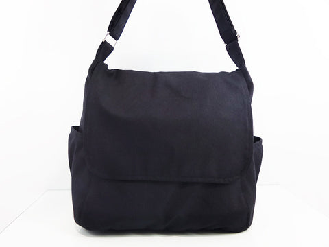 Canvas Bag Messenger Bags Shoulder bag Hobo bag Tote bag Handbags Black Laura, VeradaShop, HaremPantsThai
