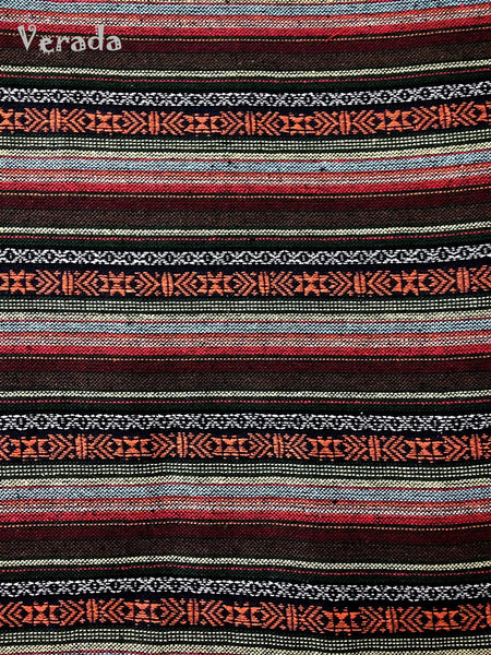 Thai Woven Cotton Tribal Fabric Textile 1/2 yard (WF54), VeradaCraft, HaremPantsThai