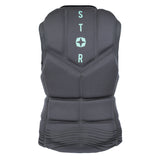 MYSTIC STAR WAKE IMPACT VEST FRONT ZIP WOMEN - BLACK - 2018