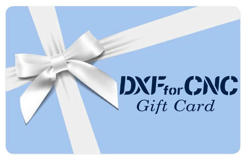 Gift Card-DXF files Cut Ready CNC Design-dxfforcnc.com
