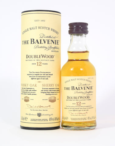 Balvenie 12 year old Double Wood 5cl - Whiski Shop