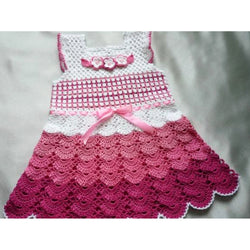 Crochet Baby Dress - Crochet clothes