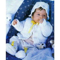 Knitted newborn baby set - AsDidy fashion