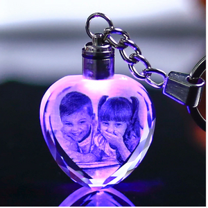 Clubbing Love ™️ Laser Engraved Crystal Key chain (Limited Edition)