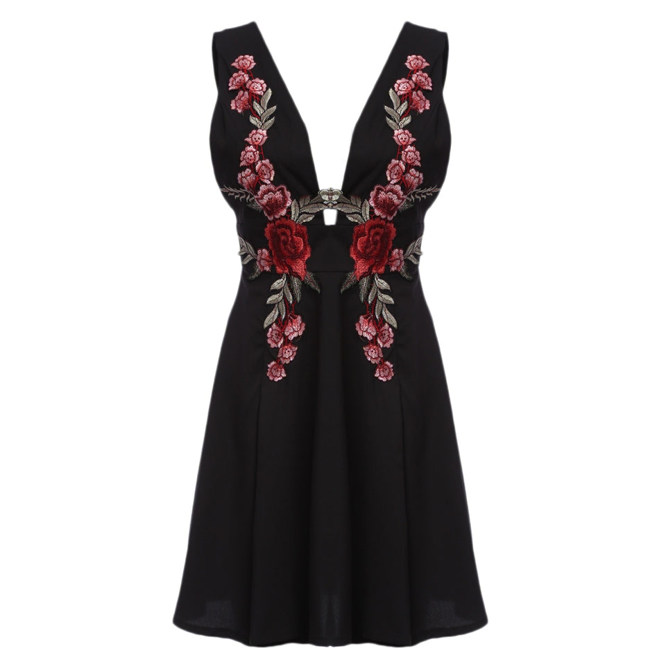 Club Dresses | Party Dresses | Sundress Floral - Club Dresses | Party Dresses | Club Outfits. Club Dresses from ClubbingLove.com