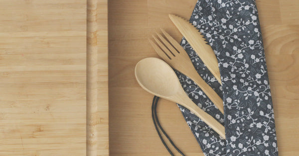 Take your own cutlery or purchase a bio-degradable bamboo set