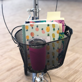 Product Highlight - convenient basket for personal items