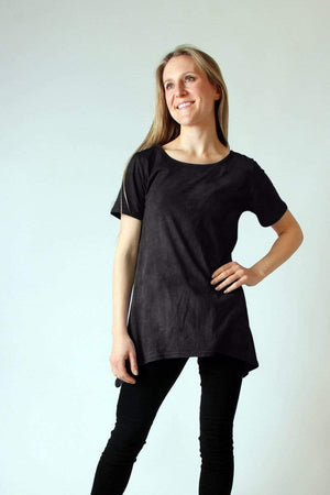 Steel Pony top Small / Black Leslie T-Shirt