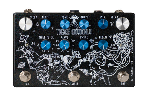 Stacks FX announces their first delay pedal: Thsee Anomaly