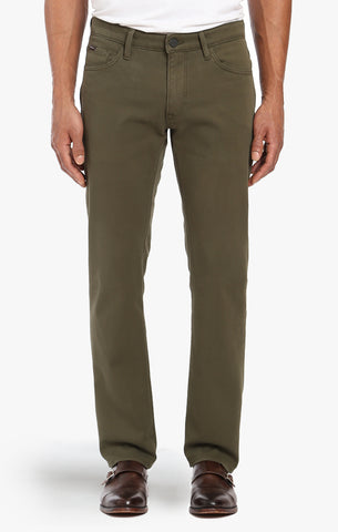 Courage Straight Leg In Green Fine Twill