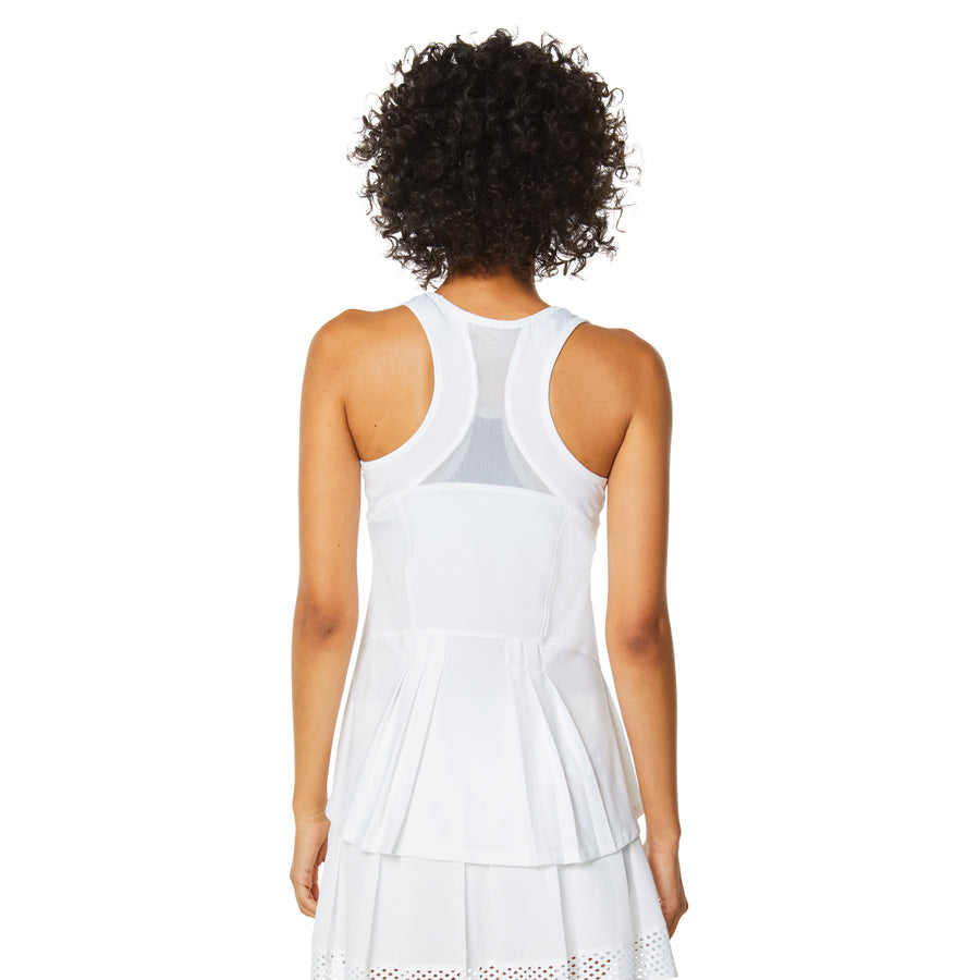 30-LOVE PLEATED BACK TANK